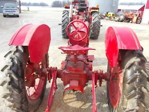 Mccormick Deering Farmall F12 F14 Tractor Nice Original Ih Set Pair Of Fenders