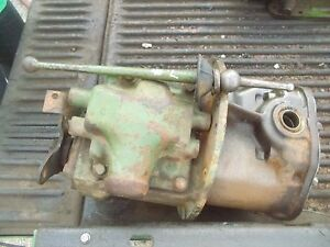 1940 John Deere L Tractor Jd Main Transmission Housing W Gear Gears