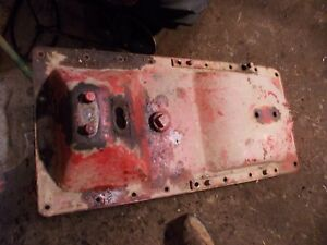 Mccormick Farmall F12 F14 Tractor Ih Main Transmission Housing Cover
