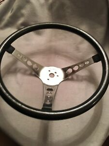 Vintage 1960 s 4 Hole Pontiac Chevy Ford Superior The 500 Steering Wheel