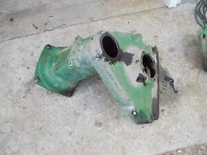 John Deere M Tractor Original Jd Left Rear Drop Axle Housing M51t