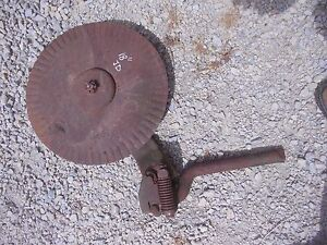 John Deere Jd Plow 18 Rolling Cutter Wheel Disc Disk Mounting Brace Bracket