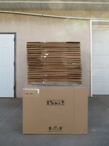 50 Large Corrugated Cardboard Double Wall Heavy Duty Shipping Boxes 31x26x23 5