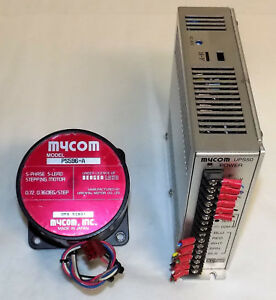 Mycom Ps596 a 5 phase Dc Stepping Motor W Ups50 130 Driver Controller Oriental