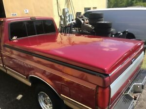 81 97 F150 F250 F350 8ft Long Bed Tonneau Cover Ford Truck Flat Topper Florida