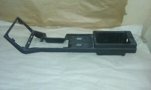 82 84 Firebird Ta Trans Am Center Console Shell With 2 Power Windows Holes