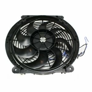 Hayden Automotive Electric Fan Single 12 Dia Puller 800 Cfm Black Plastic Ea