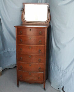 Antique Oak Lingerie Dresser Chest Of Drawers Paine Furniture Company