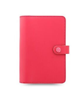 Filofax The Original Personal Size Leather Organizer Agenda Ring Binder Calen