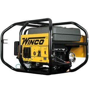 Winco Wc6000he 5500 Watt Electric Start Portable Generator W Honda Gx Engine