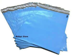 100 Blue Color Poly Mailer Bags 14 5 X 19 Boutique Shipping Envelope Mailing