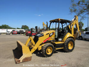 2014 Caterpillar 420f 4wd Backhoe Wheel Loader Tractor Ride Control Cat Bidadoo