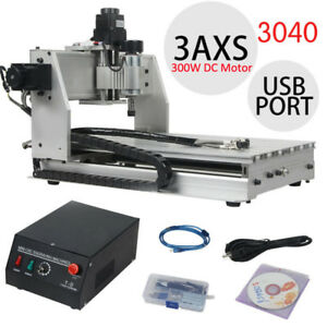 Usb Cnc Router Engraver Engraving Cutting 3 Axis 3040 300x400mm Machine Milling