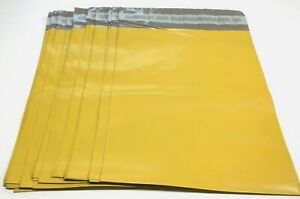 100 Yellow Color Poly Mailer Bags 14 5 X 19 Boutique Shipping Envelope Mailing