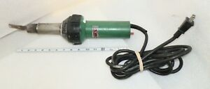 Leister Triac St Plastic Welder Hot Air Heat Gun Roofing Vinyl Flooring Scuffs