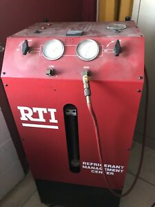 Rti Technologies Tc670 V Air Conditioning Service Machine Recycle Recovery Rechg
