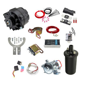 Ford Mercury 1949 1950 1951 1952 1953 Cars Truck 12v Conversion Kit
