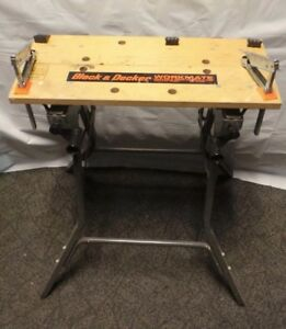 USED Black & Decker WM400 Workmate Portable Workbench Project Center 101897-1