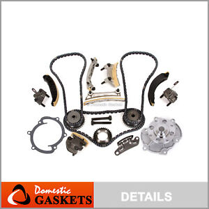 07 15 Cadillac Buick Chevrolet Gmc Pontiac 3 6l 3 0l Timing Chain Kit Water Pump
