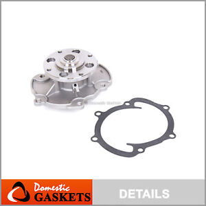 Water Pump Fit 04 17 Buick Cadillac Chevrolet Gmc Ponitac Saturn 3 6l Dohc