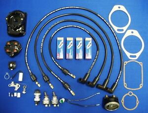 Fits Lincoln Sa200 Blackface Welder Tune Up Kit Fm Morse Fairbanks Magneto W Amp