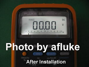 Fluke 87 88 Multimeter White Led Back Light Upgrade Conversion Module Kit