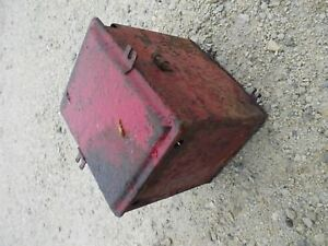 Ih Farmall C Super C Tractor Battery Box With Lid