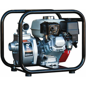 Brave Pro Brp160sp2 147 Gpm 2 Semi trash Water Pump W Honda Gx Engine
