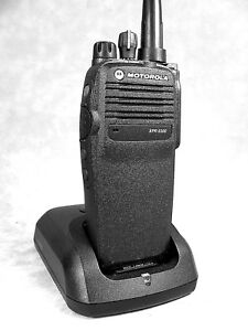 Mint Motorola Xpr6300 Uhf Mototrbo Portable Radio W accessories