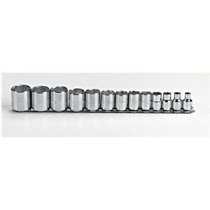 Proto J52126 3 8 Drive 13 Pc Sae Socket Set 6 Point