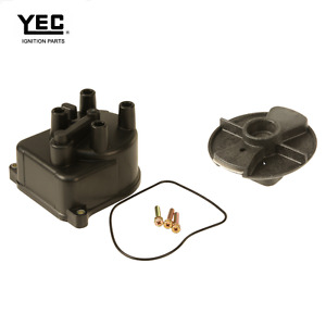 Distributor Cap With Rotor With Distributor Yec Fits Honda Accord 1990 1991