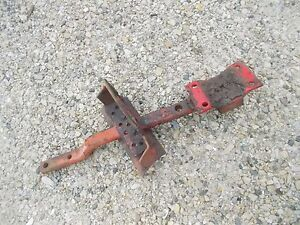 Ford 8n Tractor Drawbar Draw Bar Hitch Tongue Assembly Anchor Bracket Brackets