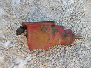 Farmall Bn C B A Tractor Ih Ihc Belt Pulley Drive Box Assembly W Drive Gear