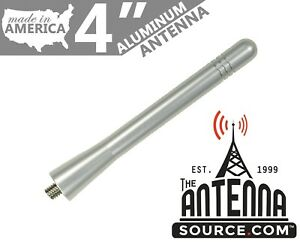 Short 4 Aluminum Silver Antenna Mast Fits 2016 2018 Ford Focus Rs