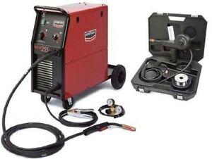Century Lincoln K2783 1 Wire Feed Mig Welder 255 Amp W Spool Gun Kit K2532 1