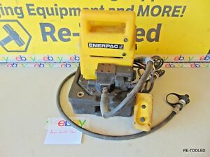 Enerpac Electric Hydraulic Pump 10 000 Psi With Remote tools Portable Pressure