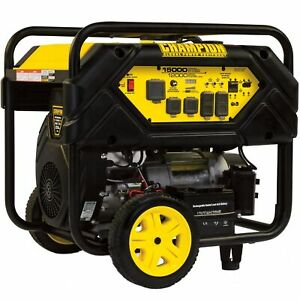 Champion 100111 12 000 Watt Electric Start Portable Generator