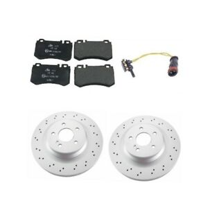 Mercedes W211 Cls55 Amg E55 Amg Complete Rear Brake Kit Rotors Pads Top Value