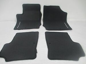 Oem 2010 2013 Kia Forte Koup Coupe Charcoal 4 Piece Floor Mat Set Mats
