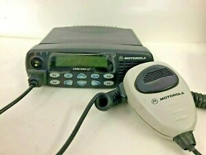 Motorola Cdm1550ls Uhf Mobile Radio 450 512mhz Model Aam25shf9dp6an