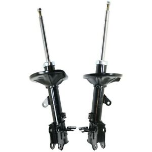 Shocks For 2004 09 Kia Spectra Fwd Gas charged Twin tube Rear Left