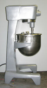 Hobart 30 Quart Qt Bakery Pizza Dough Mixer Stainless Single Phase 1 2 H p 230v