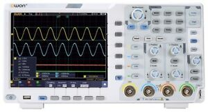Owon Xds3104e 100mhz 4ch 8 Bits Touch Low Noise Digital Oscilloscope i2c spi rs2