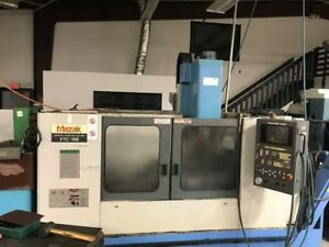 Used Mazak Vtc 16b Cnc Vertical Mill 1996 M 32b 44 16 20 8000 Rpm 24 Tools