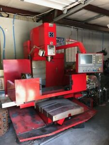 Used Block Pro 4222 Cnc Vertical Mill Specially Designed To Machine Engine Block