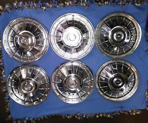1964 Thunderbird Hubcaps Wheel Covers Six