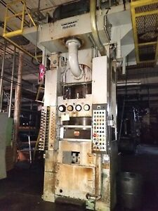 Cincinnati Hydroform Press 25 6 10 Metal Forming Machines Available Must Go