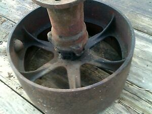 Mccormick Farmall Tractor Original Ih Steel Belt Pulley Drive Assembly Nut