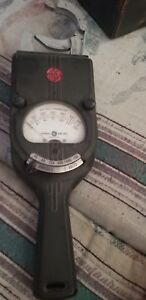 Vintage General Electric Ac Clamp On Ampmeter voltmeter 800 Amps 750 Volts Ac