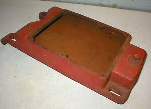 Maytag Gas Engine Motor Model 92 82 Gas Tank Short Shallow Hit Miss Base